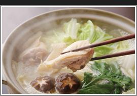 純系名古屋コーチン鍋と旬彩コース・・・4500円